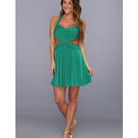 BCBGMAXAZRIA Shea Halter Cutout Cocktail Dress Ultra Green - Zappos.com Free Shipping BOTH Ways