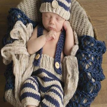 Baby Knit Hat Outfit Newborn Prop - CCC251