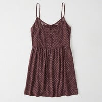 Womens Lace-Trim Cami Dress | Womens New Arrivals | Abercrombie.com