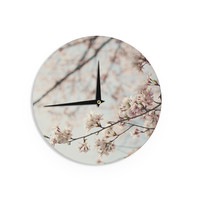 "Catherine McDonald ""Japanese Cherry Blossom"" Wall Clock"