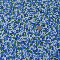 Blueberry Fabric, Cool Blues for the feel of spring and summer sewing and crafting.