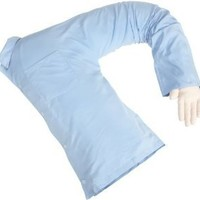 Boyfriend Pillow ® - Blue And White - The Original Arm Snuggle Companion Pillow - TRADEMARKED