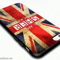 Sherlock Holmes British England Flag I Am Sher Locked Case Cover For iPhone 6 / iPhone 6 Plus