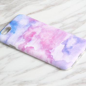 Watercolor Painting Pastel iPhone 7|6s Plus|SE|5 & Samsung Galaxy S8|S7|S6 protective tough snap case KB933