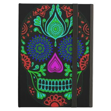Colorful Sugar Skull iPad Air Case