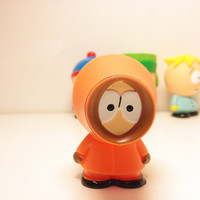 "Kenny McCormick ~ South Park Buildable Figurine Topper ~2"" ORANGE"