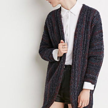 Multi-Knit Dolman Cardigan