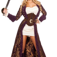 Decadent Pirate Diva Costume