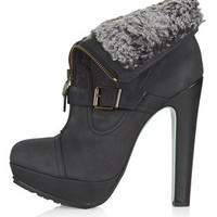**Midnight Hour Boots by CJG - Black