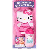 Hello Kitty Wash Mitt Puppet & Body Wash, 2 pc by MZB