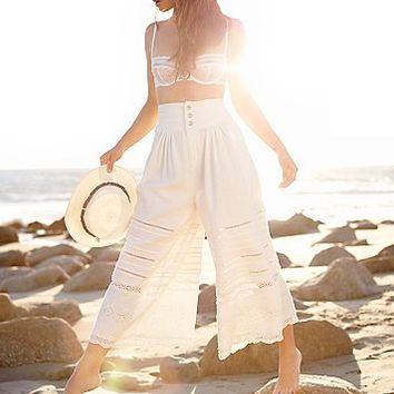 Free People New Romantics Oaxaca Culotte