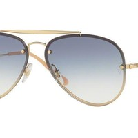 Ray-Ban RB3584N BLAZE AVIATOR 001/19 Gold Sunglasses