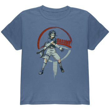 Naruto - Sasuke Knives Youth T-Shirt
