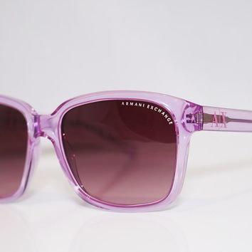ARMANI EXCHANGE Womens Designer Sunglasses Pink Butterly AX 4002 8033 8H 13093