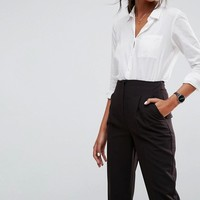 ASOS Mix & Match Highwaist Cigarette Trouser at asos.com