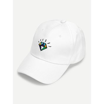 Diamond Embroidery Baseball Cap