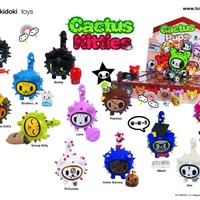 TOKIDOKI CACTUS KITTIES 30 PIECE BLIND MYSTERY BOX DISPLAY