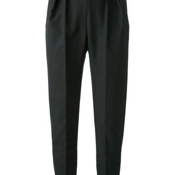balenciaga pleat detail trouser 2