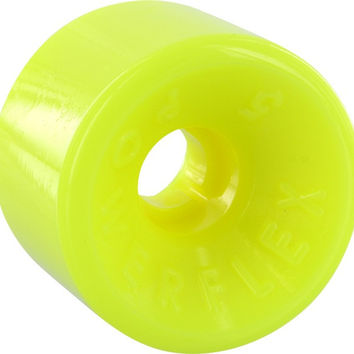 Powerflex 5 63mm 88a Yellow Longboard Wheels