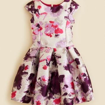 Zoe Girls' Floral Brocade Dress - Sizes 4-6X | Bloomingdales's