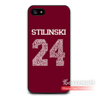 Teen Wolf Stilinski 24 Cover Case For iPhone 6 6 Plus 5 5s 5c 4 4s iPod 5 Brand New Ultra Matte Phone Covers