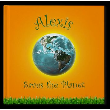 Saves The Planet Personalized Storybook - Soft Cover