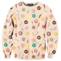 Donuts and Ice Cream Crewneck