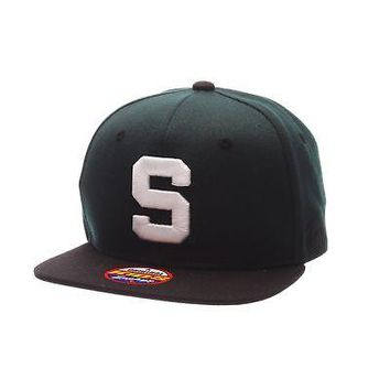 Licensed Michigan State Spartans Official NCAA Z11 Youth Adjustable Hat Cap by Zephyr KO_19_1