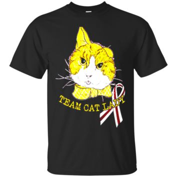 TEAM CAT LADY Aquarius Aries Cancer t shirt 4181