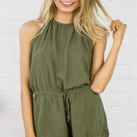 Olive you to the Moon and Back Romper