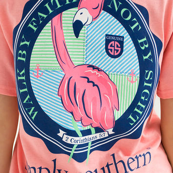Walk By Faith Tee | Simply Southern