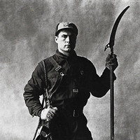 vintage tree pruner worker art print irving penn photograph photo image home decor picture man figure sewer cleaner city life dirty job 50s