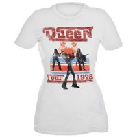 Queen Tour 1976 Girls T-Shirt Plus 3XL