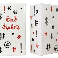 Bad Habits Money Change Bank
