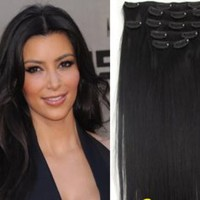 Clip In 100% Human Hair Extension