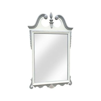 Pre-owned Shabby Chic Hand Painted Vintage Mirror