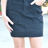 With All My Heart Mini Skirt