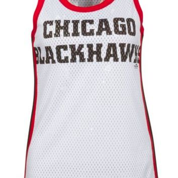 Chicago Blackhawks Womens In the Stands Tank Top