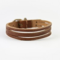 Brandy & Melville Deutschland - Brown Leather Bracelet