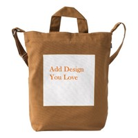 Design Your Own BAGGU Duck Bag, Chestnus Color Duck Bag