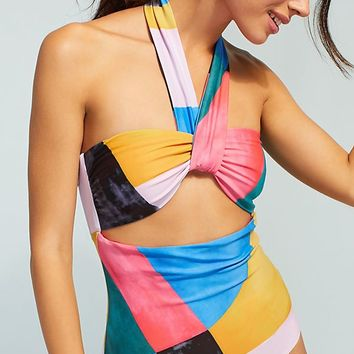 Mara Hoffman Cleo Cut-Out One-Piece Swimsuit