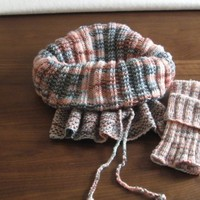 Soft and snuggly Cowl / Hood (Knancy's Knitting Patterns)
