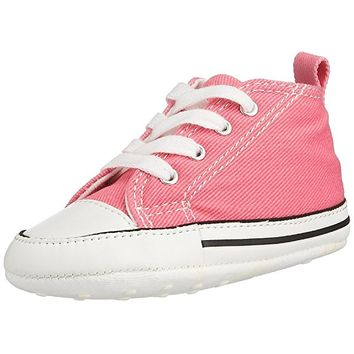 Converse Baby-Boys' Chuck Taylor First Star Hi Canvas Sneakers