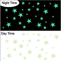 Glow in the Dark Stars (Total of 29) Peel And Stick Stickers Decals Removable Wall Art