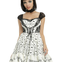 The Nightmare Before Christmas Jack Embroidery Dress