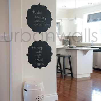 Chalk Wall Decal, Frame, To Do List