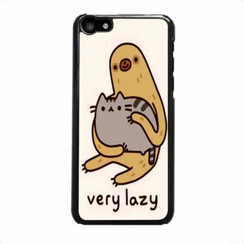 pusheen cat and sloth case for iphone 5c