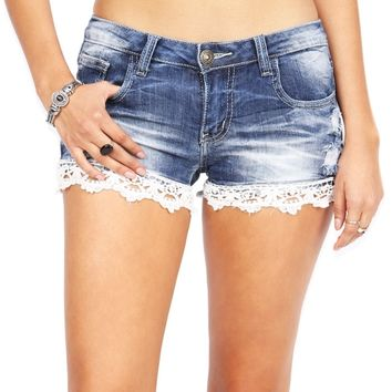 Trail Trim Denim Shorts