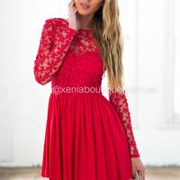 Splended Angel 2.0 Dress (Red)