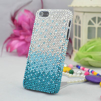 iPhone 4 Case  Luxury Rhinestone iPhone case  by superdiycase